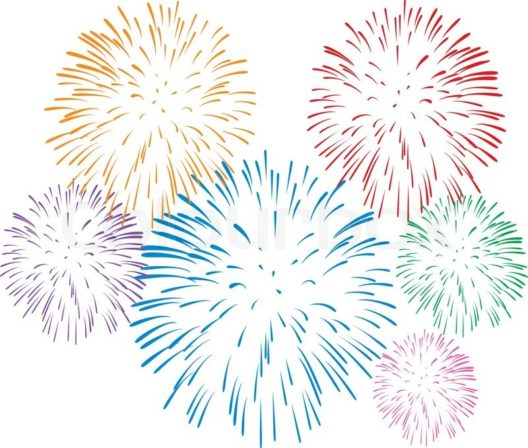 4325026-vector-colorful-fireworks-on-white-background